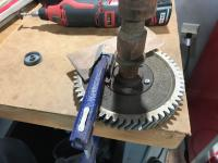 Remove gear from cam