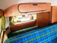 1974 Westfalia Rebuild - interior plaid