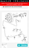 Vanagon brake booster vacuum line schematic
