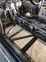 Chassis bracing and aluminum rear deck