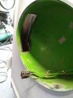 1964 kombi headlight bucket