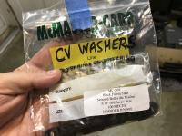 Bus CV Boot Reinforcement Plates