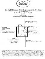 headlight flasher relay wiring