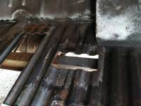 Single cab floor repairs