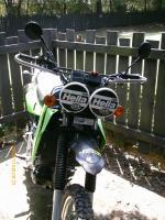 Dual Hella 500's on the play bike.