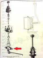 autsotick gear shifter exploded view