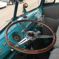 Wooden Steering Wheel (not mine)