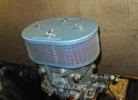 Retro-look Dell'Orto DRLA air cleaners