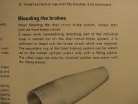 dual brake bleeding according to Delius, Klasing & Co. VW Service Manual