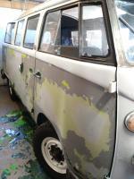 1964 kombi paint stripping.