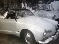 Vintage VW Karmann Ghia photo