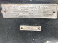 1958 Ghia vin plate