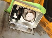 Voltage regulator, alternator plug, starter connections