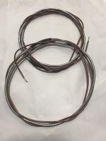 Aluminum wrapped horn wire