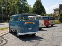 A few Transporters at the St. Louis garage party for Neil Pickett visit