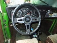 Scirocco steering wheel on '77 Beetle