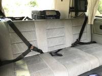 Three point seat belts