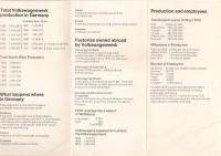 June 1971 UK brochure - Facts on Volkswagen