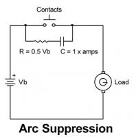 Arc suppression