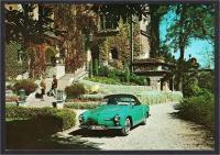 Karmann Ghia postcard