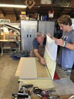Making door panels