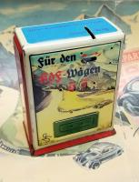 Early 1940s Michael Seidel KdF Wagen Savers Bank - Spardose Germany