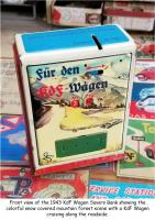 Early 1940s Seidel KdF Wagen Savers Bank - Spardose - Germany