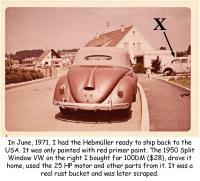 Scraped Split VW
