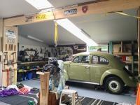 Perfect skylight working Vw garage