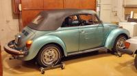 1979 Super Beetle Convertible hibernating