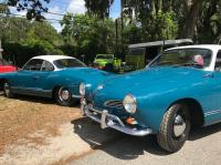 1962 & 1964 Sea Blue Karmann Ghias