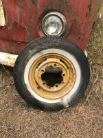 Bus wheel dated 1/55