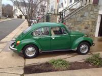 1973 Super Beetle, Sumatra green