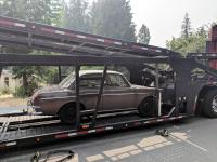 Notchback sent off to San Diego!