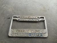 Charlie Cloyd Vw plate frame