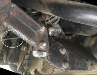 Vanagon diesel exhaust mount