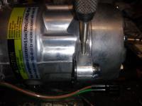 Compressor bracketry