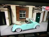 Converted Beetle on Celebrity Antiques Road Trip
