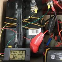 battery gauge/voltmeter/ammeter