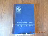 VW Factory Service Manual 1952-55