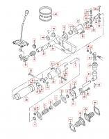 Syncro shift parts schematic 1990