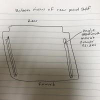 rear pull out drawer