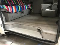 Replace Capet with Hard floor in T4 Eurovan