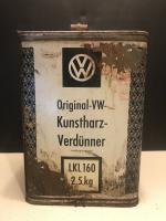 Vintage VW Thinner can