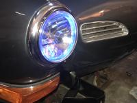 Karmann Ghia 1972 headlight