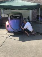 Putting my friends car back together