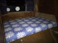 Rear Z Bed mattress re-covered
