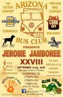 Jerome Jamboree 2018 event flyer