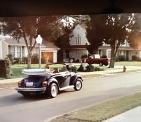Convertible Blue Bug