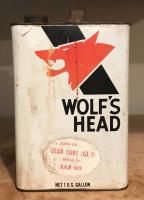 Wolf's Head GL1 gear lube transmission oil